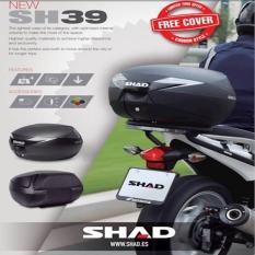 Box SHAD SH 39 Carbon(Gratis Ongkir Dki Jakarta Via )