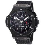 Spesifikasi Merek Megir Militer Pria Bisnis Watch Silicone Mewah Jam Tangan Hitam Yang Bagus