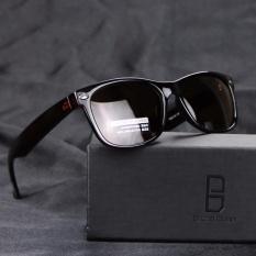 Brand Unisex Retro polarized Sunglasses designer Lens Vintage Eyewear Accessories Sun Glasses For Men/Women 2140(tea) - intl