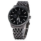 Brand Watches Sinobi 9268 Male Japan Quartz Watch Stainless Steel Strap 10M Water Resistance Diskon Tiongkok