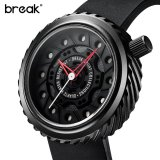 Jual Break Speedmaster Pria Hitam Karet Band Olahraga Kasual Fashion Quartz Jam Tangan Intl Break