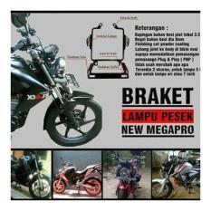 Breket Braket Lampu Pesek Honda New Megapro ukuran7inc NMP BONUS STIKER