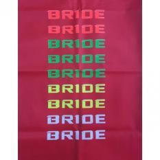 Miliki Segera Bride Cover Sarung Jok Motor Merah