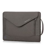 Kualitas Brinch Fashion Durable Envelope Nylon Fabric 14 Inch Laptop Notebook Macbook Ultrabook Tablet Computer Bag Shoulder Carrying Envelope Case Pouch Sleeve With Shoulder Strap Pockets And Card Slots Gray Intl Brinch