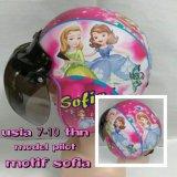 Spesifikasi Broico Helm Anak Lucu Usia 7 Sampai 10 Tahun Motif Pilot Little Pony Kuda Pony Toserba
