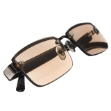 Harga Hemat Coklat Fashion Kristal Kacamata Baca Kacamata Hitam 1 5 Diopter
