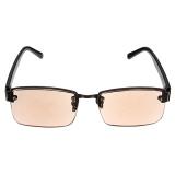 Harga Coklat Fashion Kristal Kacamata Baca Kacamata Hitam 1 5 Diopter Oem Tiongkok