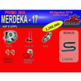Brt Paket Yamaha Jupiter Z Head Klep Cam Piston Set Bonus Chain Jawa Barat