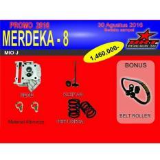 Review Brt Paket Yamaha Mio J Head Klep Per Korea Bonus Belt Roller Terbaru