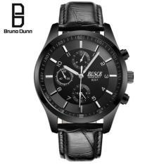 Spesifikasi Bruno Dunn 100 Authentic Men S Top Brand Luxury Kasual Bisnis Fashion Multi Fungsi Sport Quartz Watches Untuk Pria Dengan Tas Paling Bagus