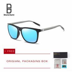 Harga Bruno Dunn Brand 2017 Fashion Baru Buatan Manusia Bingkai Bulat Besar Kacamata Terpolarisasi Retro Desainer Merek Matahari Kacamata Pria Kacamata Cakera Dilarang 2140 Hitam Lis Biru Lensa International Terbaru