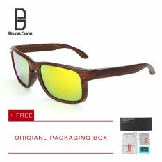 Beli Bruno Dunn Merek Deisnger Kacamata Hitam Pria Wanita Sport Sun Kacamata Holbrook Brown Frame Merah Lense Intl Kredit