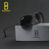 Jual Bruno Dunn Merek Cermin G15 Lensa Kaca Aviator Pria Wanita Vintage Kacamata Kacamata Matahari 3025 Black Frame Green Lens Intl Intl Baru