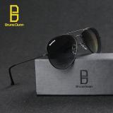 Diskon Bruno Dunn Merek Cermin G15 Lensa Kaca Aviator Pria Wanita Vintage Kacamata Kacamata Matahari 3026 Black Frame Green Lens Intl Intl Akhir Tahun