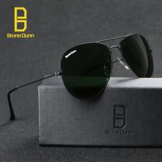 Toko Bruno Dunne Sunglases Penerbang 3025 Lapisan Nuansa Klasik Desainer Kacamata Hitam Uv400 Anti Sinar Uv Hitam G15 58Mm Internasional Termurah Di Tiongkok