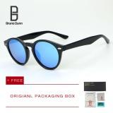 Beli Bruno Dunn Wanita Pria Sunglasses 2017 Fashion Round Lensa Cermin Terpolarisasi Matahari Vintage Kacamata Merek Desainer Eyewear 2180 Intl Bruno Dunn