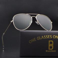 Beli Bruno Dunn Wanita Pria Polarized Aviator 3025 Sunglasses Emas Bingkai G15 Lense Intl Cicilan