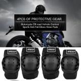 Penawaran Istimewa Bsddp Bsd1006 4 Pcs Motor Bersepeda Motocross Siku Bantalan Lutut Guard Protector Pelindung Gear Intl Terbaru