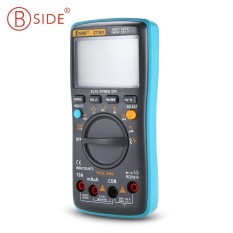 BSIDE ZT301 Portable Handheld Digital Multimeter 8000 Counts LED Backlight Electrical Test Diagnostic Machine with Large LCD display screen - intl
