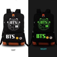Spesifikasi Bts Bangtan Boys Luminous Ransel Wanita Pria Rucksack Travel Gym Tas Laptop Tas Sekolah Hitam Lengkap Dengan Harga