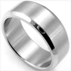 Spesifikasi Bu Cool Stainless Steel Ring Band Titanium Perak Black Emas Pria Sz 6 Sampai 13 Perhiasan Intl Baru