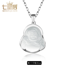 Spesifikasi Buddha Laughing Buddha Maitreya Wanita Kalung Opal Liontin Terbaik