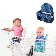 Buggy Bench Keranjang Belanja Kursi Di Ocean Biru untuk Bayi, Balita, dan Twins (Hingga 40 Kilogram)-Intl