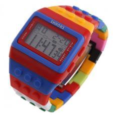Harga Building Block Watch Geek Chic Computer Retro Sports Digital Unisex Wristwatch Style I Intl Termurah