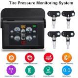 Ongkos Kirim Built In Solar Tire Pressure Monitor Tpms Tire Pressure Meter Alarm Monitor Black Intl Di Hong Kong Sar Tiongkok