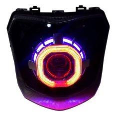 Beli Bullaes Lampu Projector Hid Xenon Double Angel Eyes New Vixion Aes7 Bullaes