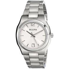 Bulova Womens 96M126 Klasik Analog Display Japanese QUARTZ White Watch-Intl
