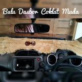 Jual Bulu Dashboard Mobil Cream Branded Murah