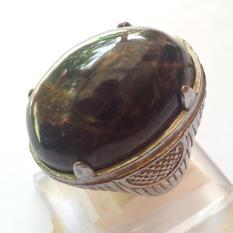 Bumi Permata - Cincin Pria Batu Akik Matrix Common Opal Sukabumi