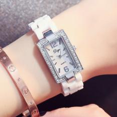 Jual Elegan Shishang Style Wanita Shi Ying Bentuk Perempuan Keramik Jam Tangan Import