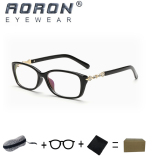 Buy 1 Get 1 Freebie Aoron Brand Retro Reading Glasses Anti Fatigue Computers Glasses Anti Blue Light Eyeglasses 3605 Black Intl Di Tiongkok