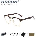 Toko Beli 1 Gratis 1 Freebie Aoron Kacamata Membaca Merek Retro Kacamata Komputer Anti Radiasi Anti Cahaya Biru 5162 Teh Lengkap Di Tiongkok