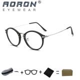 Cuci Gudang Buy 1 Get 1 Freebie Aoron High Quality Fashion Retro Reading Glasses Comfortable Eyewear Anti Fatigue Computers Eyeglasses 866 Sand Black Intl