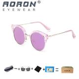 Spesifikasi Beli 1 Gratis 1 Freebie Aoron Fashion Kacamata Wanita Desain Klasik Sunglasses Uv400 Melindungi Polarized Sunglasses P307 Ungu Intl Beserta Harganya