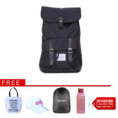 Beli Buy 1 Get 5 Ezplora Unisex Casual Bag Tas Ransel Punggung Nexus Black Online Terpercaya