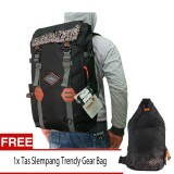 Buy One Get One Gear Bag Tas Ransel Korean Mountain Backpack 43 Liter Free Tas Slempang Gaul Gear Bag Original