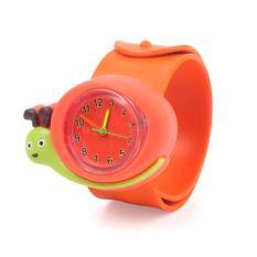 Beli Buyincoins Cute Cartoon Children Kid Quartz Sports Bendable Rubber Strap Wrist Watch Cicilan