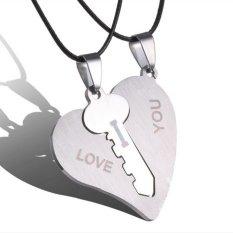 Buytra Tetapkan Pasangan Kalung Mengukir I Love You Yang Cocok dengan Kunci Hati