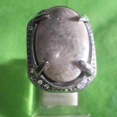 C020 Cincin Batu Akik Teratai Jumbo