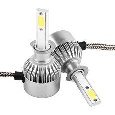 C9 55 W 4600 Luminous Aliran COB Headlight Mobil LAMPU Depan LED DRL Kabut Lampu Bulbs