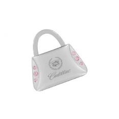 Cadillac Dompet Bentuk Keychain 6 Pink Kristal Gantungan Kunci-Intl