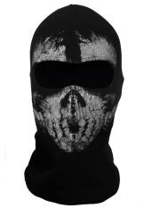 Call Of Duty Cosplay #04 Balaclava Hantu Tengkorak Masker Wajah untuk Sepeda Motor Bersepeda CS-Intl