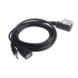 Mobil 3 5Mm Aux Input Charge Cable Untuk Iphone6 Untuk Vw Audi A6L A8 A5 Q5 Q7 Intl Qyshop Murah Di Tiongkok