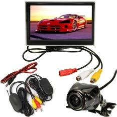 Jual Mobil 5 Lcd Monitor Belakang Kamera Cadangan Nirkabel Mundur Waterproof Kit Di Bawah Harga