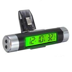 Spesifikasi Mobil Udara Ventilasi Klip Pada Nempel Jam Elektronik Termometer Digital Lcd Tampilan Hijau Online