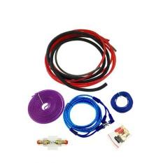 Pemasangan Audio Mobil Kabel 4 Gauge Amp Perlengkapan Subwoofer Amplifier Memasang Kabel untuk Kendaraan Suara Sistem-Internasional